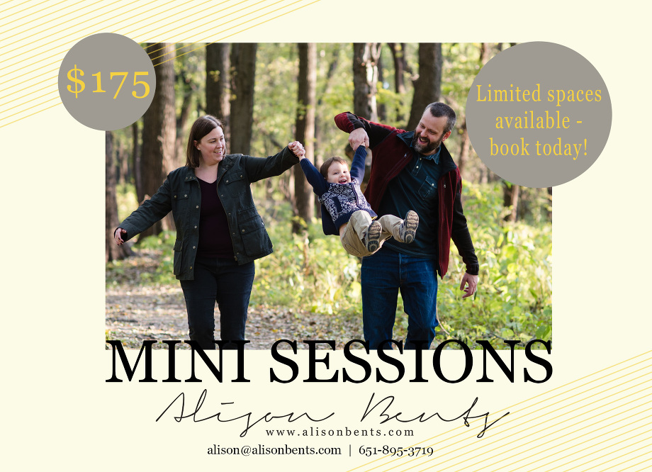 JARCHOW Mini Sessions Bold Template